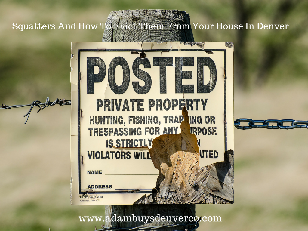 How to Evict Squatters